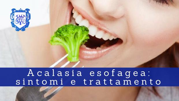 Acalasia esofagea, sintomi e trattamento 2 - Il Blog del Prof. Paolo Barillari