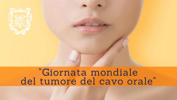 Giornata mondiale del tumore del cavo orale - Prof. Paolo Barillari