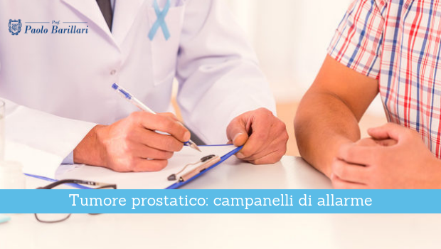 Tumore prostatico, campanelli di allarme - Il Blog del Prof. Paolo Barillari