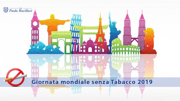 Giornata mondiale senza Tabacco 2019 - Il Blog del Prof. Paolo Barillari
